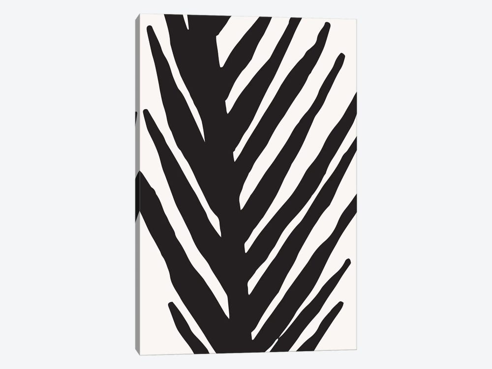 Abstract Minimal Palm by Modern Tropical 1-piece Canvas Artwork