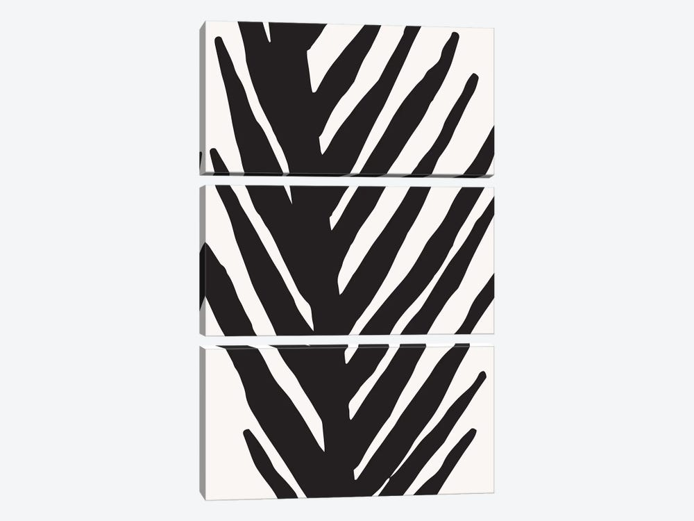 Abstract Minimal Palm by Modern Tropical 3-piece Canvas Artwork