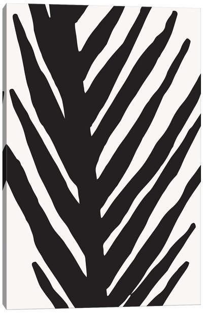Abstract Minimal Palm Canvas Art Print