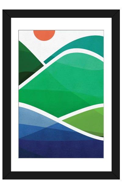Oahu Shoreline Framed Art Print