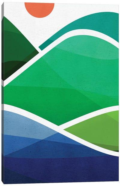 Oahu Shoreline Canvas Art Print