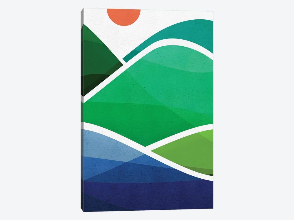 Oahu Shoreline by Modern Tropical 1-piece Art Print