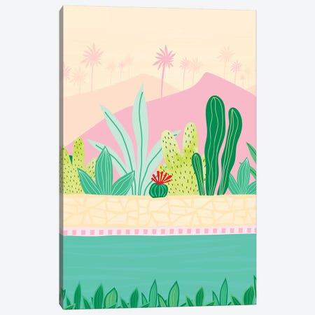 Oasis Canvas Print #MTP51} by Modern Tropical Canvas Art Print