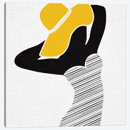 Retro Beach Beauty II Canvas Print #MTP56} by Modern Tropical Canvas Art