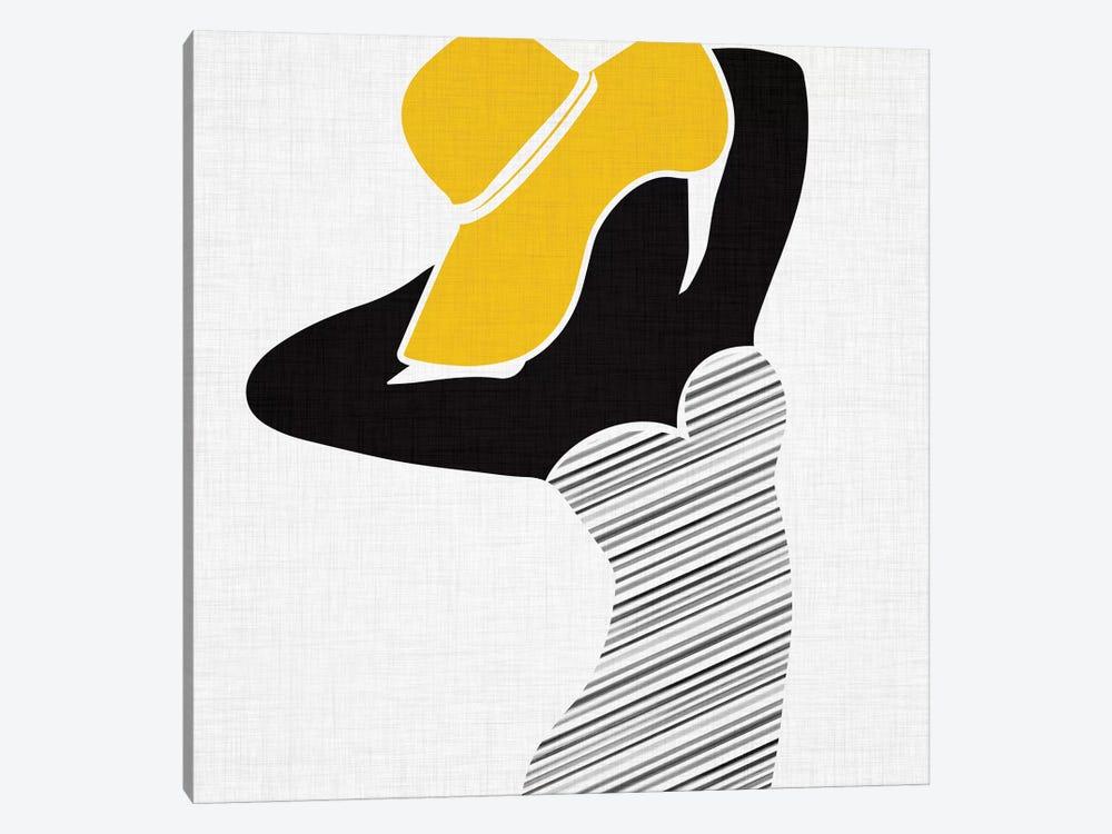 Retro Beach Beauty II by Modern Tropical 1-piece Canvas Art Print