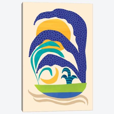 Secret Garden Canvas Print #MTP60} by Modern Tropical Canvas Art