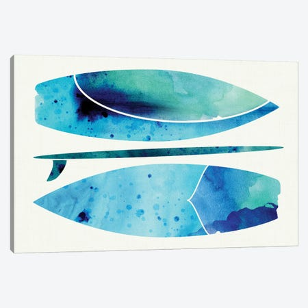 Submerged Canvas Print #MTP63} by Modern Tropical Canvas Artwork