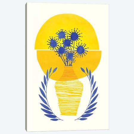 Summer Sunset Canvas Print #MTP64} by Modern Tropical Art Print