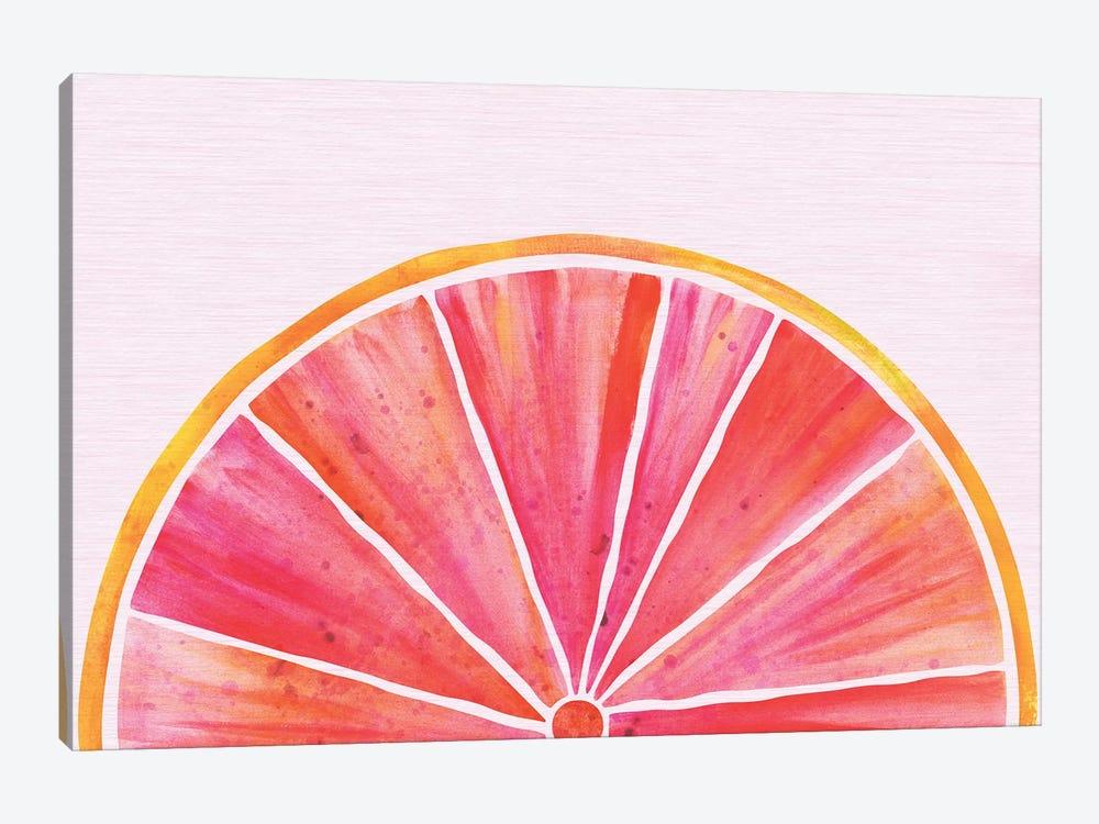 Sunny Grapefruit by Modern Tropical 1-piece Art Print