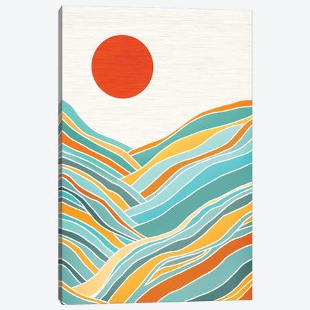 Sunset Landscape Canvas Print #MTP66} by Modern Tropical Canvas Art Print