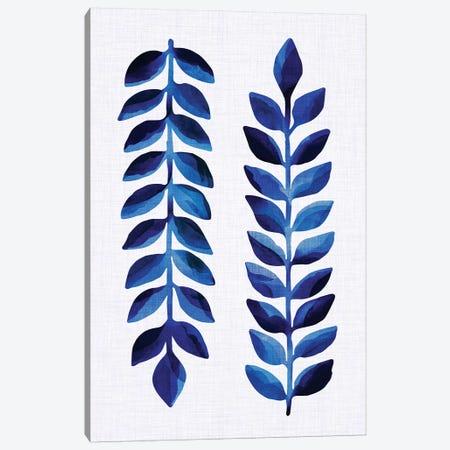 Tropical Indigo Canvas Print #MTP73} by Modern Tropical Canvas Print