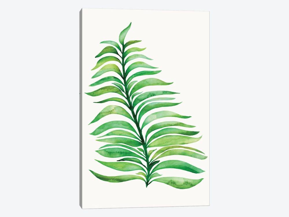 Tropical Leaf Print by Modern Tropical 1-piece Canvas Wall Art