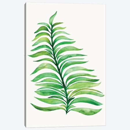 Tropical Leaf Print Canvas Print #MTP75} by Modern Tropical Canvas Art