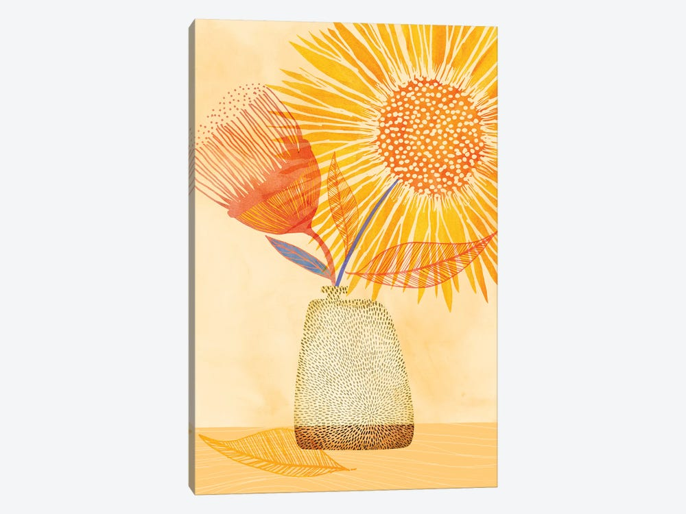 Tuesday Afternoon by Modern Tropical 1-piece Art Print