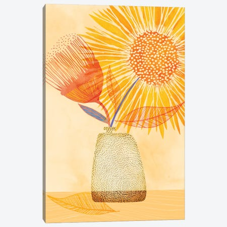Tuesday Afternoon Canvas Print #MTP78} by Modern Tropical Art Print
