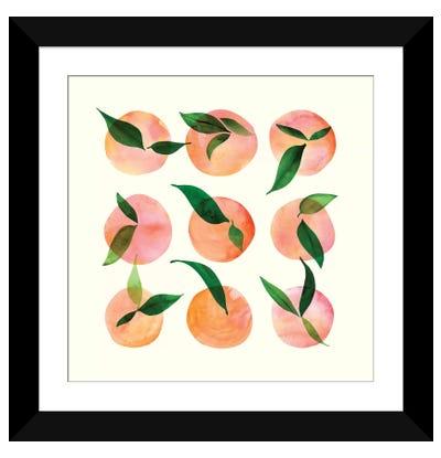 Watercolor Fruit Framed Art Print