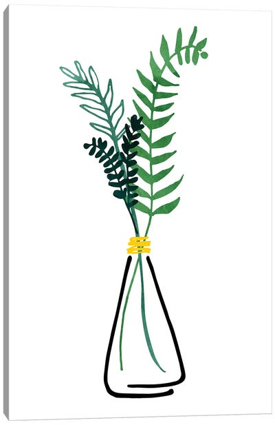 Italian Herbs Canvas Art Print