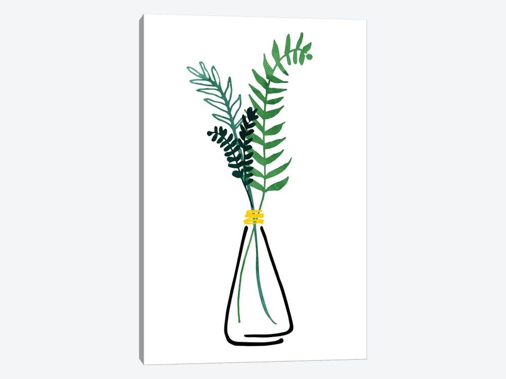 Italian Herbs by Modern Tropical 1-piece Canvas Art