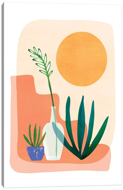 Santa Fe Summer Canvas Art Print