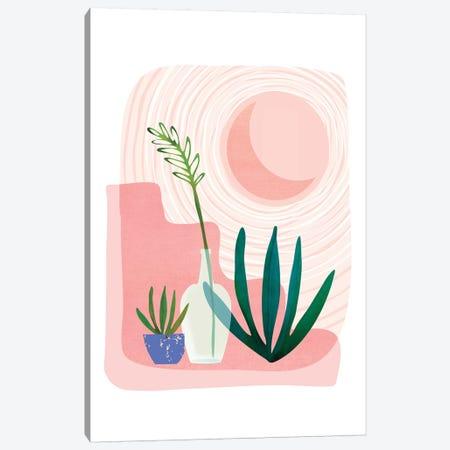 Pink Desert Canvas Print #MTP88} by Modern Tropical Canvas Art