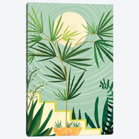 Summer Moon Canvas Print #MTP89} by Modern Tropical Canvas Wall Art
