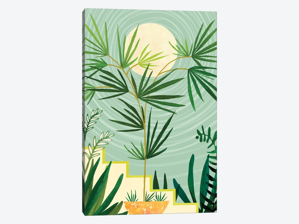 Summer Moon by Modern Tropical 1-piece Art Print
