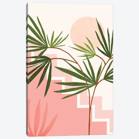 Summer In Belize Canvas Print #MTP90} by Modern Tropical Canvas Art Print