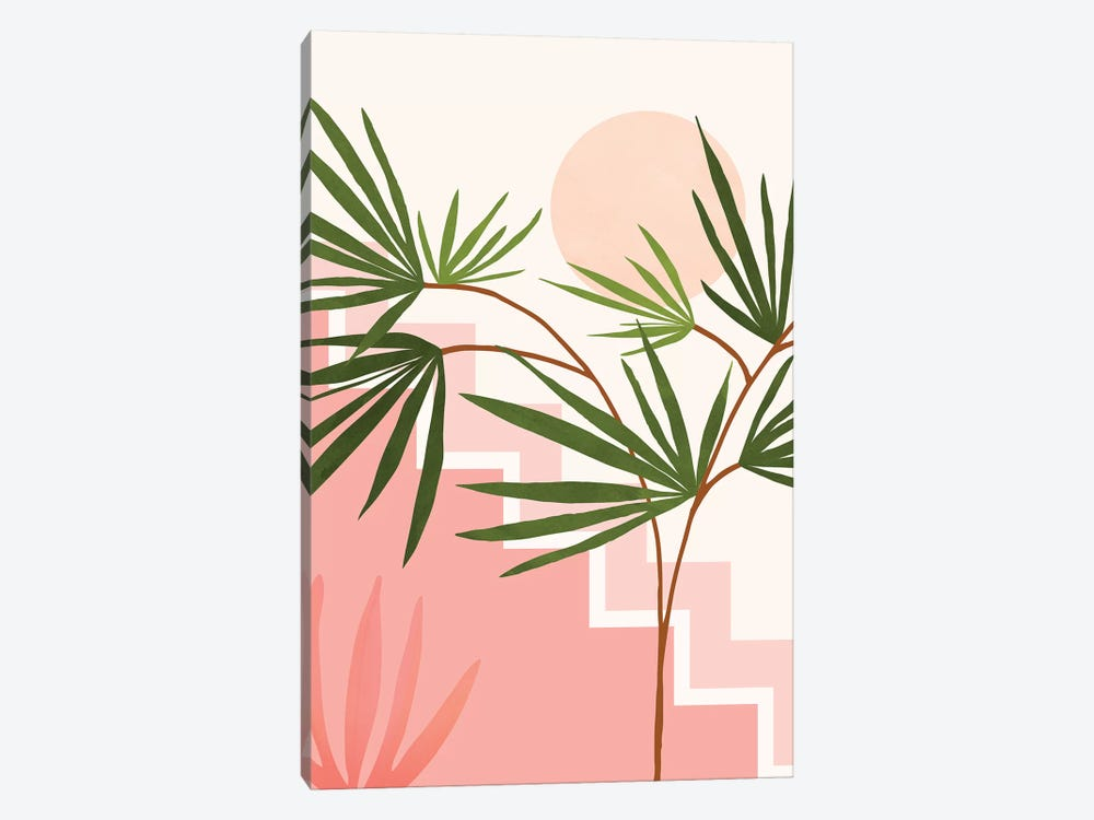 Summer In Belize by Modern Tropical 1-piece Canvas Art Print