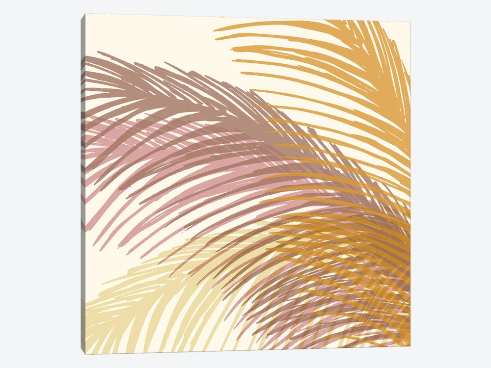 Autumn Palms by Modern Tropical 1-piece Canvas Artwork