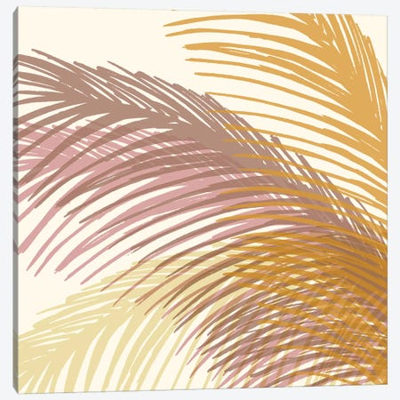Autumn Palms 3-Piece Canvas #MTP95} by Modern Tropical Canvas Art