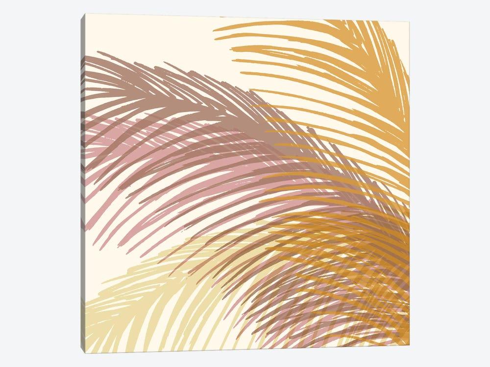 Autumn Palms by Modern Tropical 1-piece Canvas Artwork
