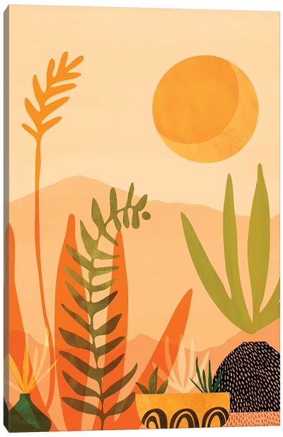 Desert Harvest Canvas Art Print