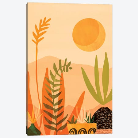 Desert Harvest 3-Piece Canvas #MTP98} by Modern Tropical Canvas Art Print
