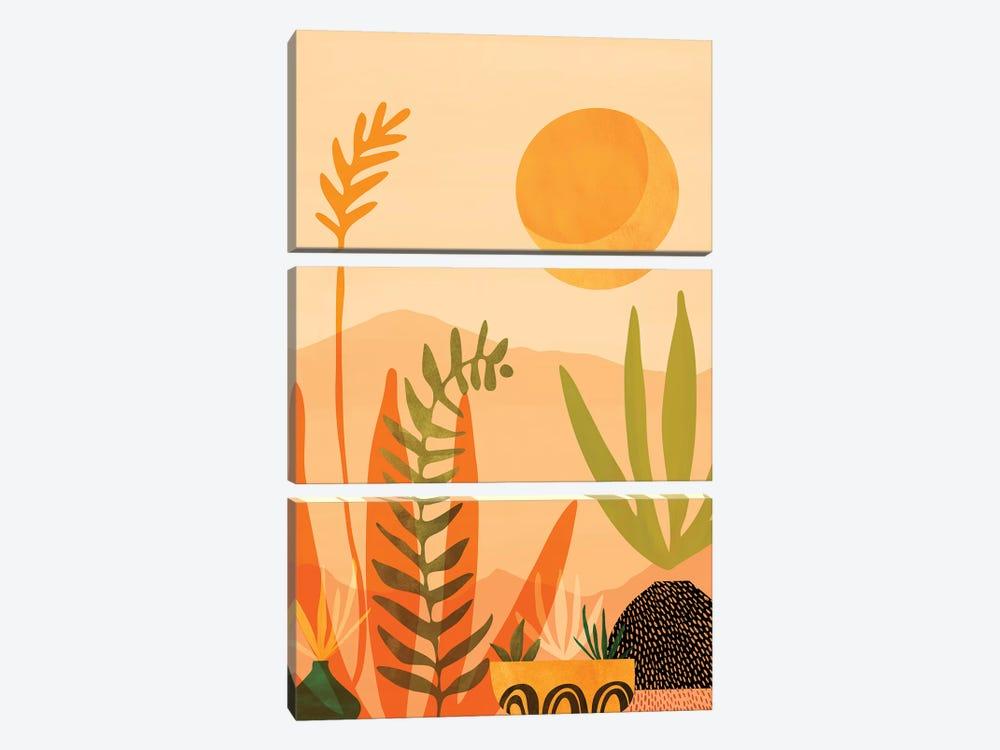 Desert Harvest by Modern Tropical 3-piece Art Print