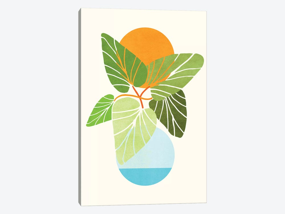 Tropical Symmetry II by Modern Tropical 1-piece Canvas Wall Art