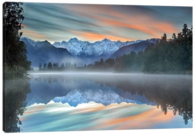 Pastel Hues Canvas Art Print