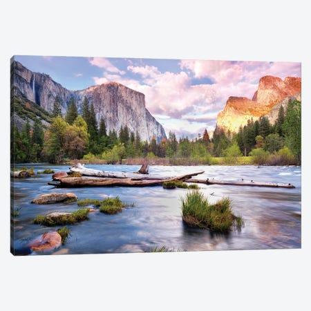 Yosemite National Park Canvas Print #MTU147} by Mateusz Piesiak Canvas Wall Art