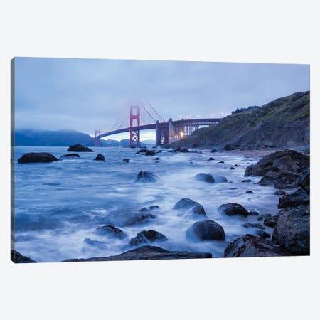 Golden Gate Bridge I Canvas Print #MTU151} by Mateusz Piesiak Canvas Art
