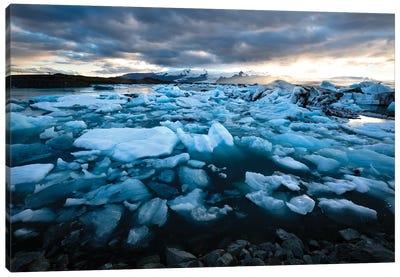 Land Of Ice Canvas Art Print