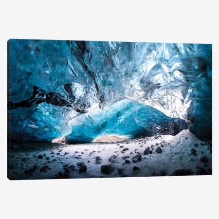 Glacier Cave Canvas Print #MTU41} by Mateusz Piesiak Canvas Print