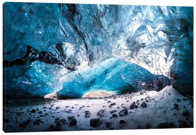 Glacier Cave Canvas Art Print