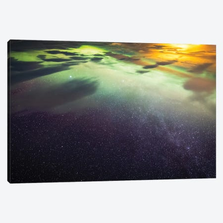 Aurora Canvas Print #MTU45} by Mateusz Piesiak Canvas Artwork