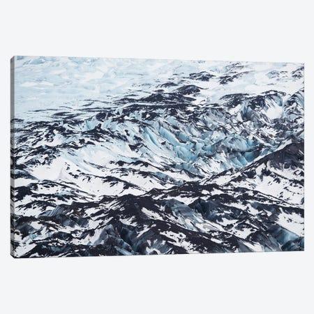 Glacier Texture Canvas Print #MTU61} by Mateusz Piesiak Art Print