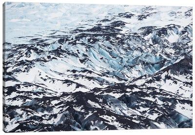 Glacier Texture Canvas Art Print