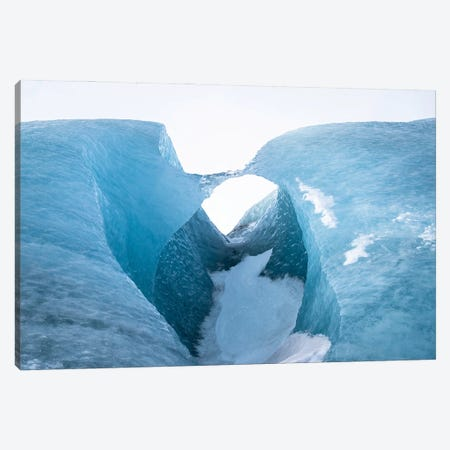 Ice Bridge Canvas Print #MTU62} by Mateusz Piesiak Art Print