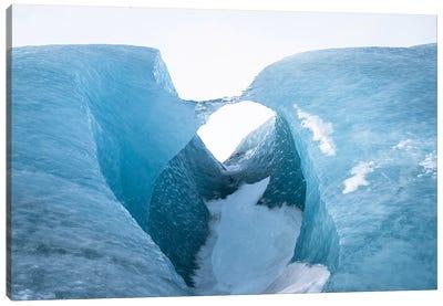 Ice Bridge Canvas Art Print