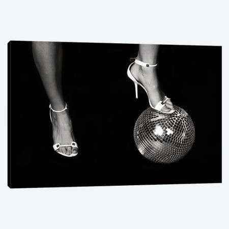 Disco Lies Canvas Print #MTV11} by Milica Tepavac Art Print