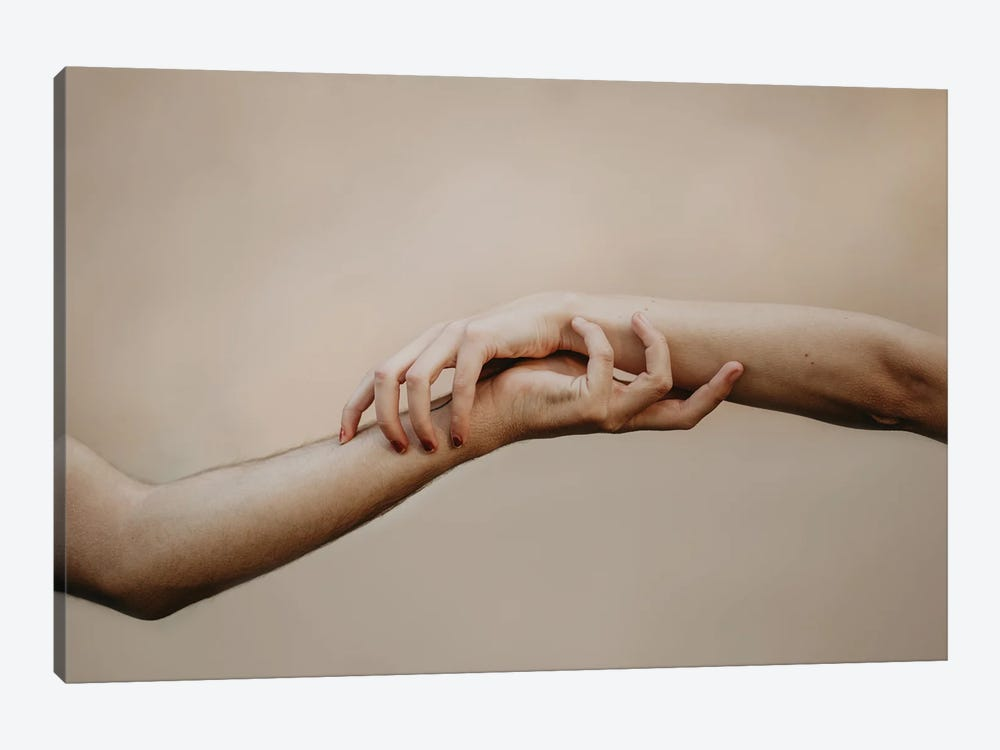 Pair by Milica Tepavac 1-piece Canvas Artwork