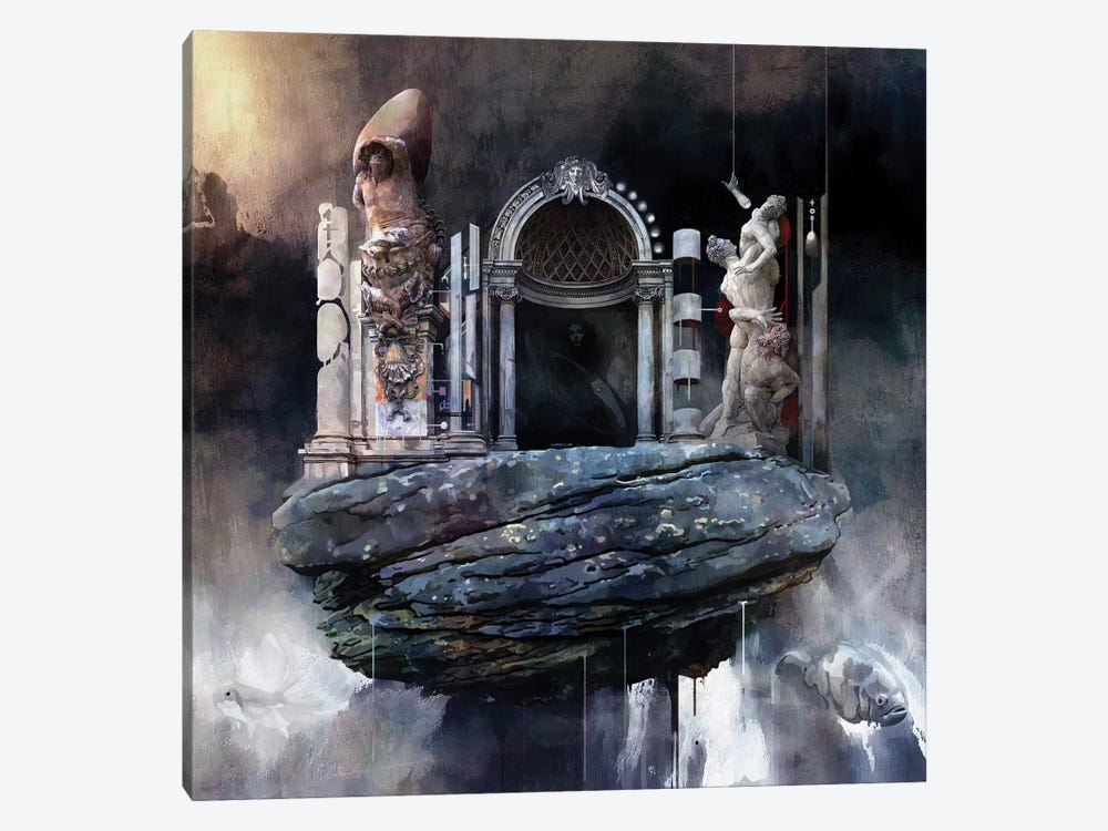 Gate by Mateusz Twardoch 1-piece Canvas Art