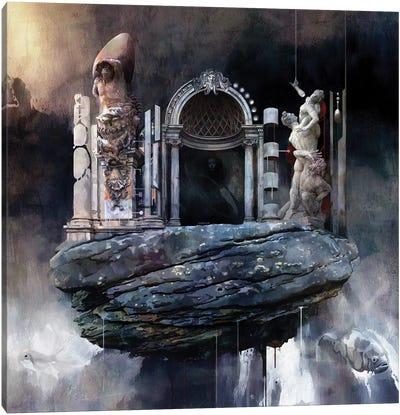 Gate Canvas Art Print
